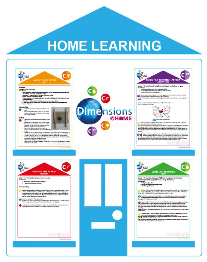 home learning curriculum
